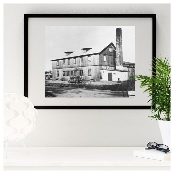 RIBBA Fotolijst, zwart, 50x70 cm