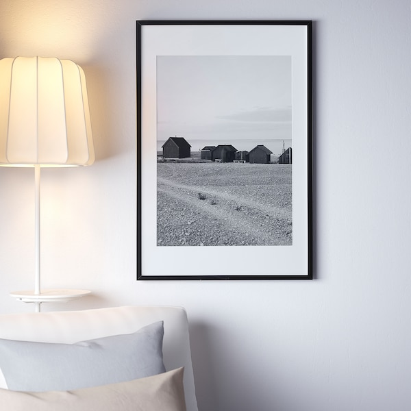 RIBBA Fotolijst, zwart, 61x91 cm