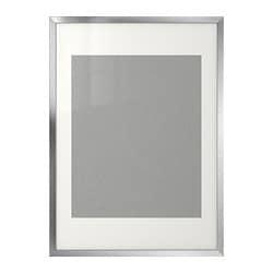 RIBBA wissellijst, aluminiumkleur