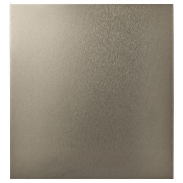 RIKSVIKEN deur licht bronseffect 60 cm 64 cm 2.0 cm