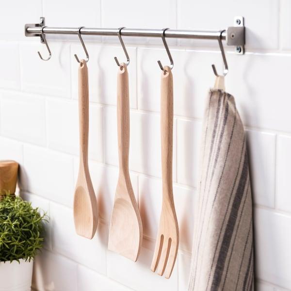 RÖRT Bakspaan voor wok, beuken
