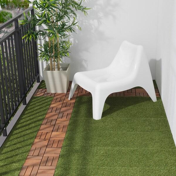 RUNNEN vlonder, buiten kunstgras 0.81 m² 30 cm 30 cm 2 cm 0.09 m² 9 st.