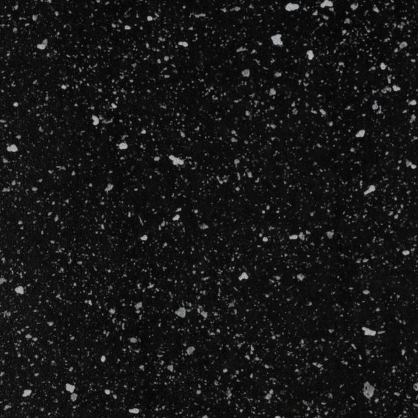 SÄLJAN werkblad zwart mineraalpatroon/laminaat 186 cm 63.5 cm 3.8 cm