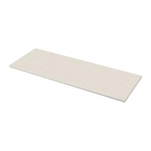 S u00c4LJAN Maatwerkblad   wit steenpatroon  laminaat, 63 6 125×3 8 cm   IKEA
