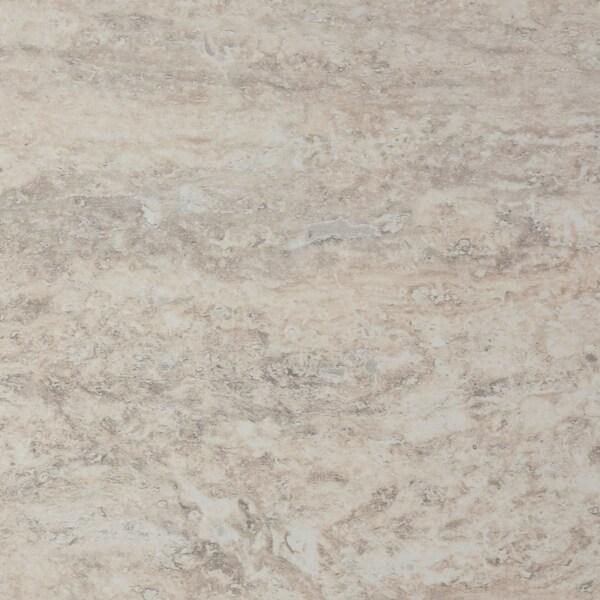SÄLJAN Werkblad, beige steenpatroon/laminaat, 246x3.8 cm