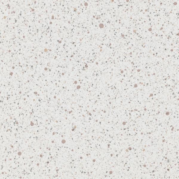 SÄLJAN Werkblad, wit steenpatroon/laminaat, 246x3.8 cm