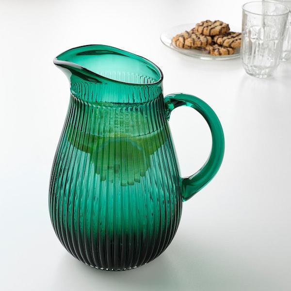 SÄLLSKAPLIG Kan, met een patroon/groen, 2 l