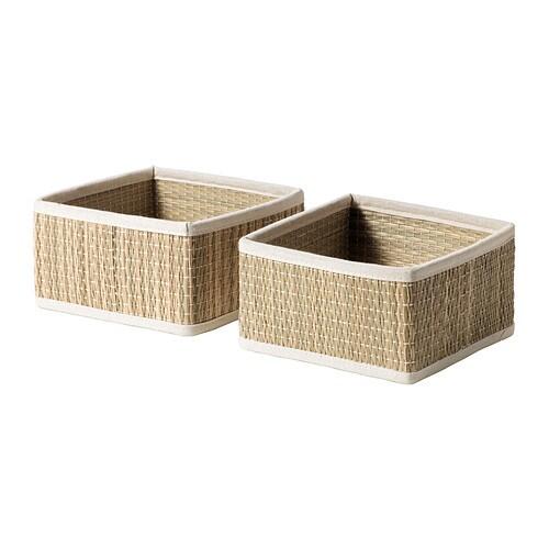 Opzet Wasbak Badkamer ~ S?LNAN Mand  16x16x9 cm  IKEA