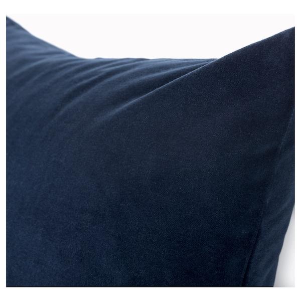 SANELA kussenovertrek donkerblauw 50 cm 50 cm
