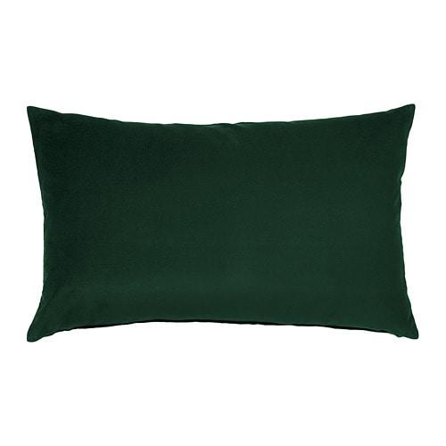 kussen groen katoen SANELA