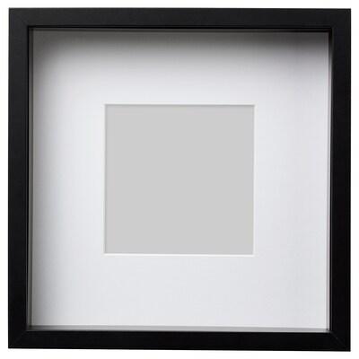 SANNAHED Fotolijst, zwart, 25x25 cm
