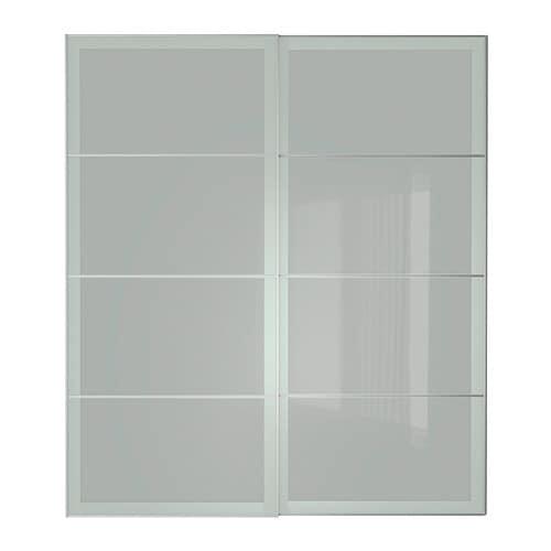 Sekken schuifdeur 200x236 cm ikea - Porte coulissante silencieuse ...