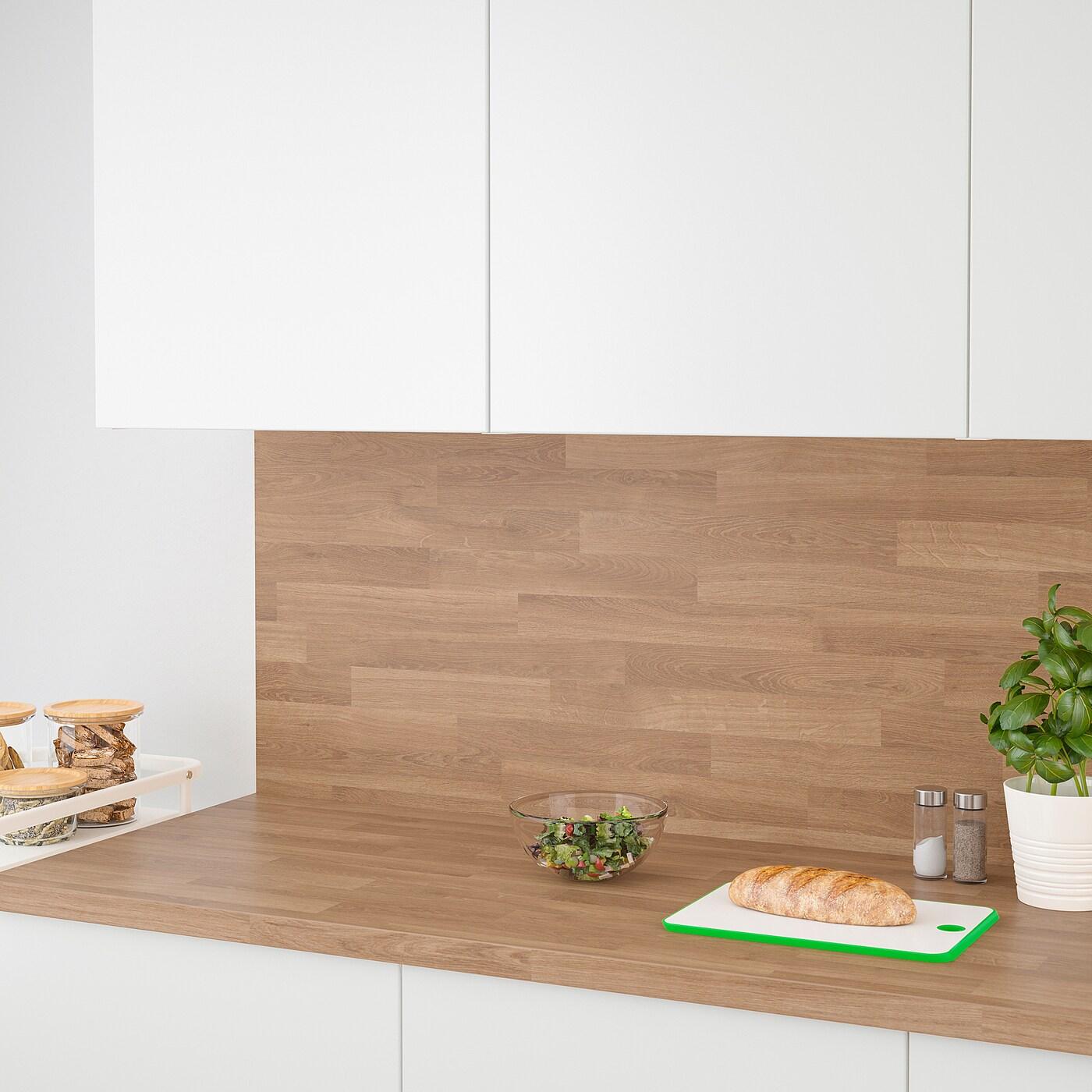 Sibbarp Maatwerk Wandpaneel Eikenpatroon Laminaat 1 M X1 3 Cm Ikea