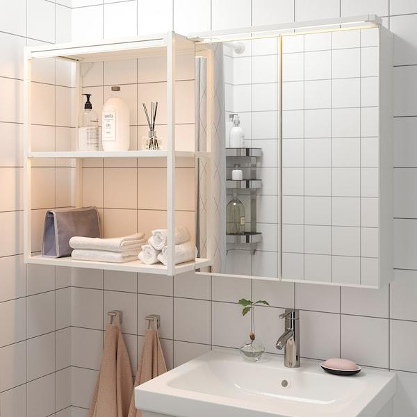SILVERGLANS Led-strip voor badkamer, dimbaar wit, 60 cm