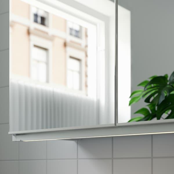 SILVERGLANS Led-strip voor badkamer, dimbaar wit, 80 cm