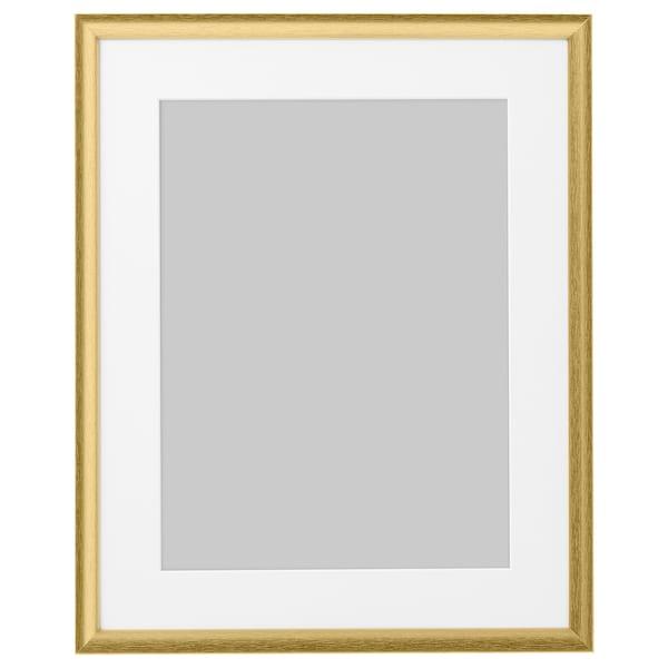 SILVERHÖJDEN Fotolijst, goudkleur, 40x50 cm