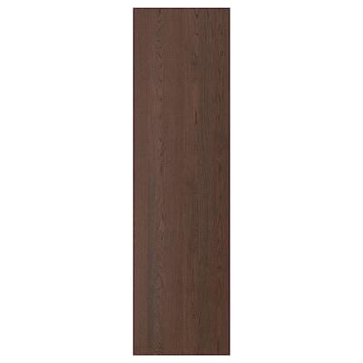 SINARP Bedekkingspaneel, bruin, 62x220 cm