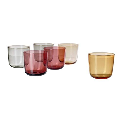 SITTNING glas, diverse kleuren