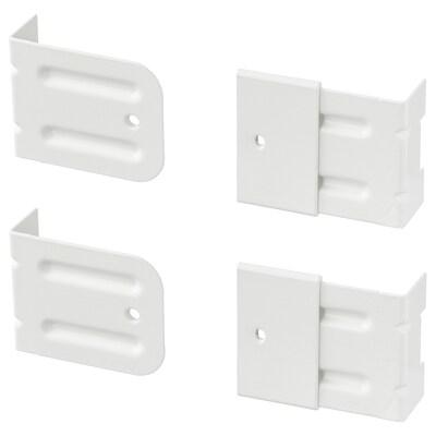 SKÅDIS bevestigingsbeslag voor ALGOT wit 5 cm 2 cm 4 cm 4 st.