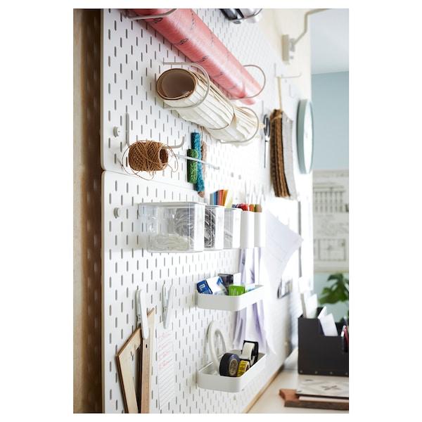 SKÅDIS Ophangbord, wit, 76x56 cm