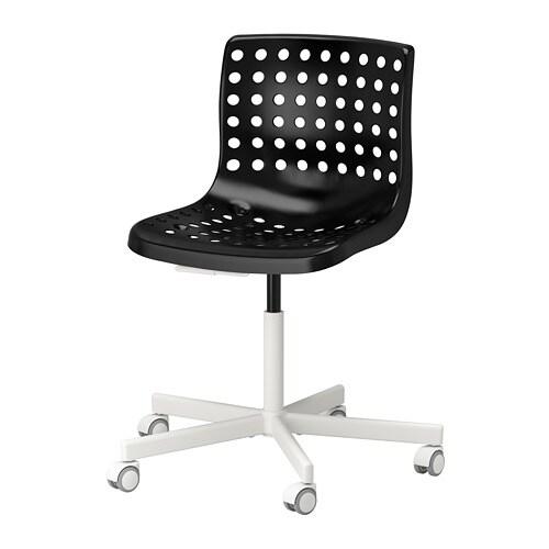 Zwart Wit Servies Ikea.Skalberg Sporren Bureaustoel Zwart Wit