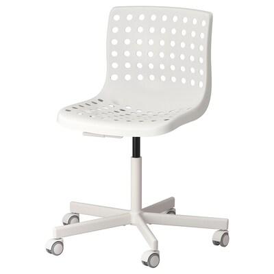 SKÅLBERG / SPORREN bureaustoel wit 110 kg 71 cm 71 cm 90 cm 46 cm 40 cm 42 cm 54 cm
