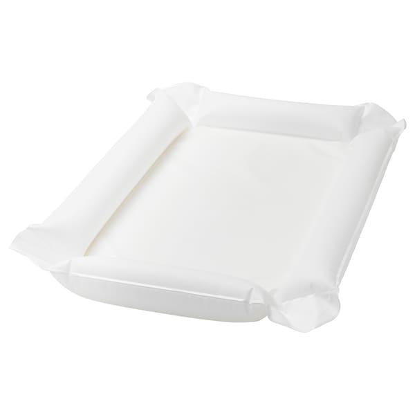 SKÖTSAM aankleedkussen wit 80 cm 53 cm 2 cm