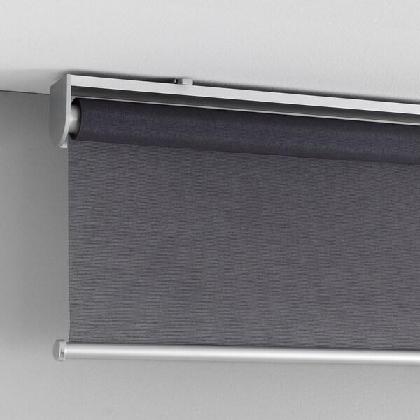 SKOGSKLÖVER Rolgordijn, grijs, 100x195 cm