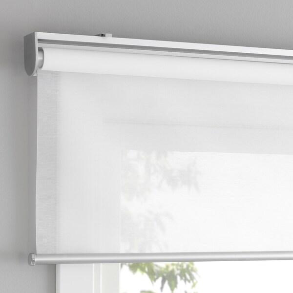 SKOGSKLÖVER Rolgordijn, wit, 80x195 cm