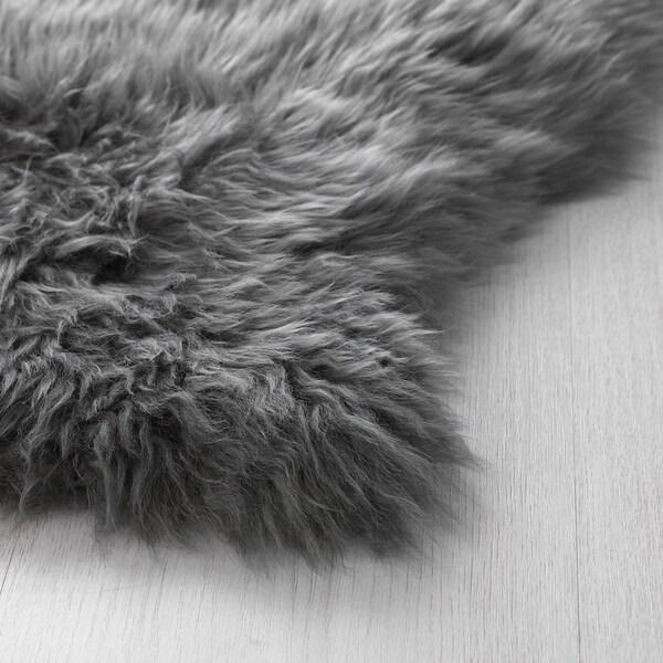 SKOLD schapenvacht grijs 90 cm 55 cm 5 cm 0.36 m²