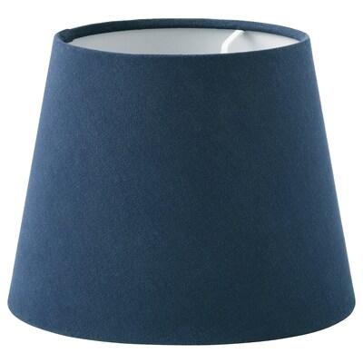 SKOTTORP Lampenkap, donkerblauw, 19 cm