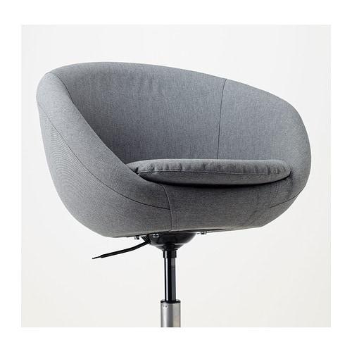 Leren Ikea Bureaustoel.Skruvsta Skruvsta Idhult Bureaustoel Zwart Ikea Bureaustoel H2ydei9w