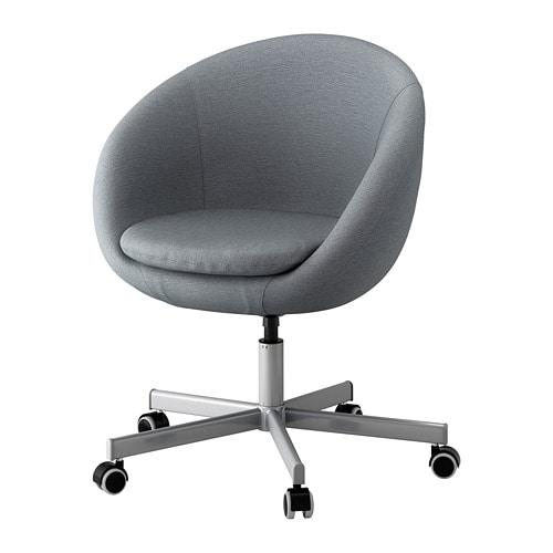 Skruvsta Bureaustoel Vissle Grijs Ikea