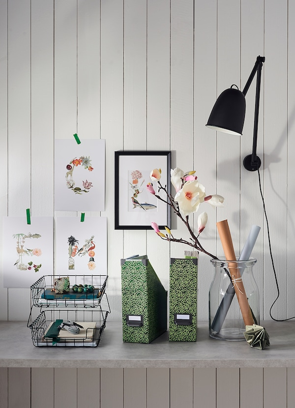 IKEA SKURUP Bureau-/wandlamp