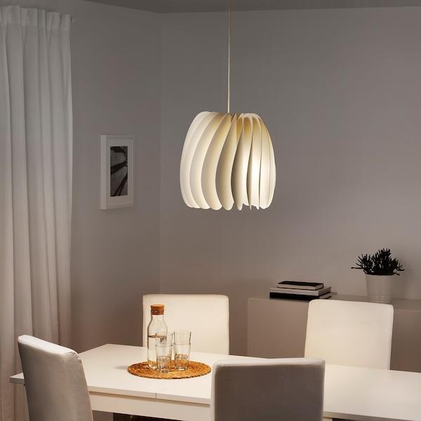 SKYMNINGEN Hanglamp, wit