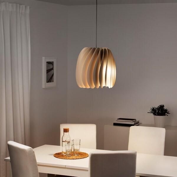 SKYMNINGEN hanglamp beige 22 W 40 cm 42 cm 1.5 m