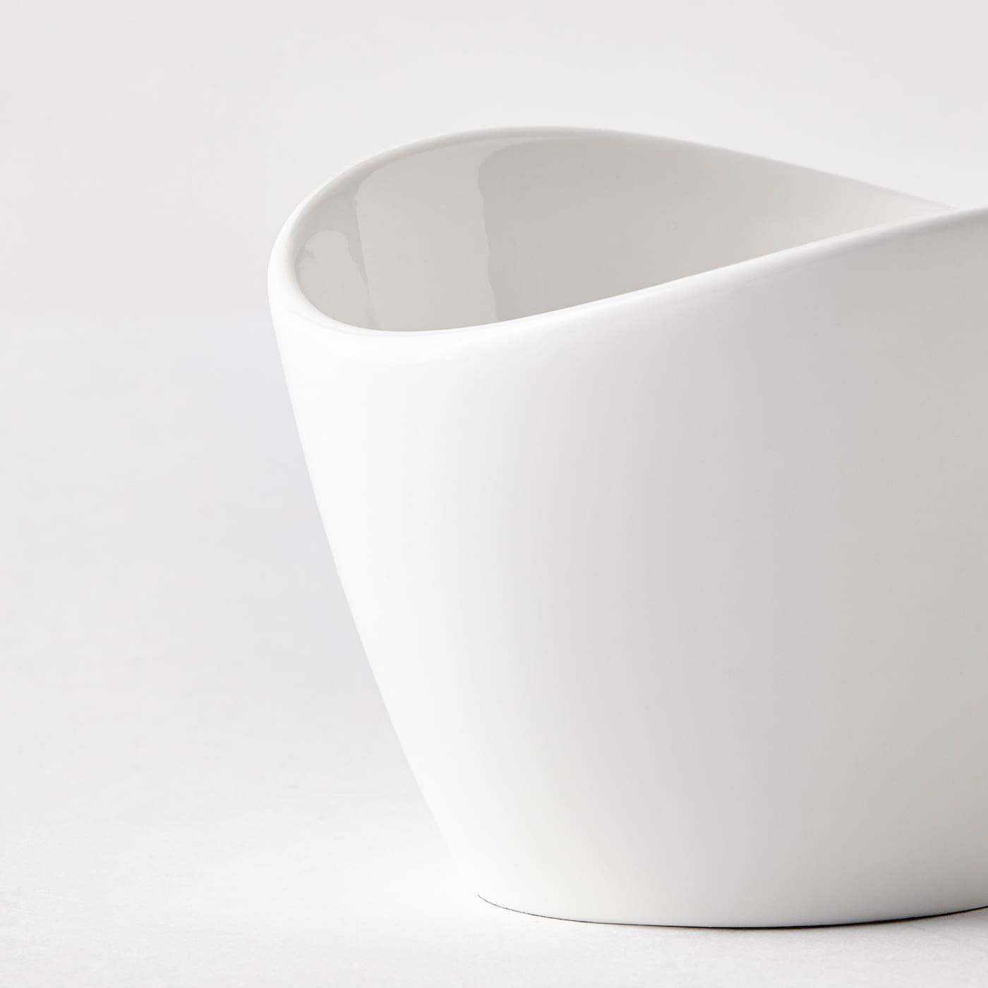 SKYN Serveerschaal, wit, 7 cm