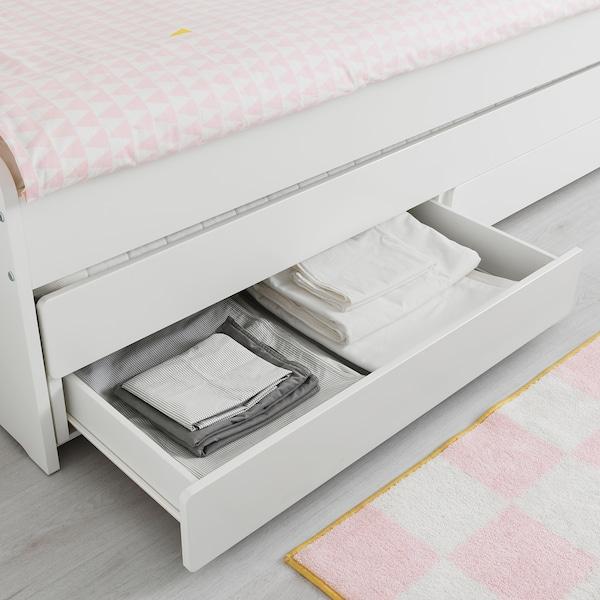 Fonkelnieuw SLÄKT Onderbed met opbergruimte, wit, 90x200 cm - IKEA HW-75