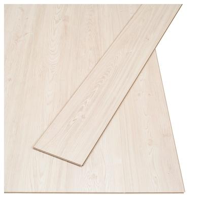 SLÄTTEN laminaat grenenpatroon 130 cm 19 cm 6 mm 15 kg 3.00 m²