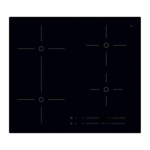 Smaklig inductiekookplaat met bridgefunctie ikea for Ikea induzione