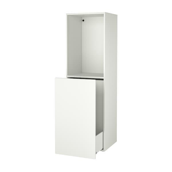 SMÅSTAD Opberger, uittrekbaar, wit, 60x57x196 cm