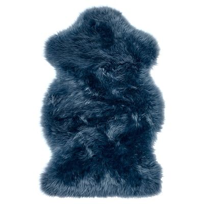 SMIDIE schapenvacht, geverfd donkerblauw 70 cm 40 cm 0.30 m²