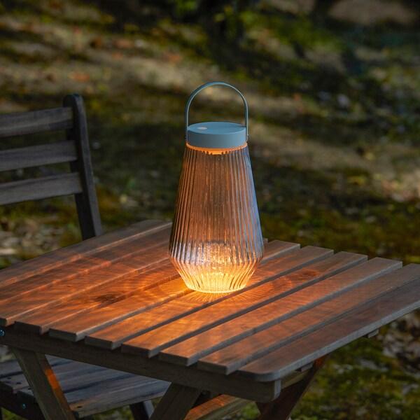 Ongekend SOLVINDEN Led-verlichting, buiten, op batterijen helder glas, 24 ED-34