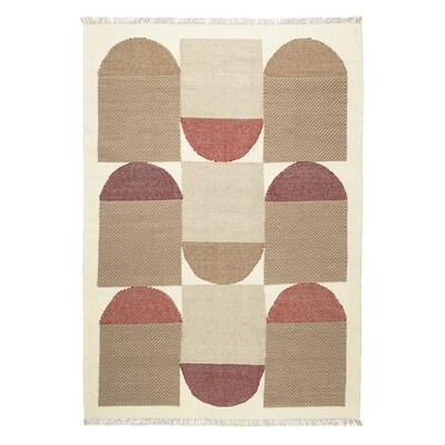 SPANGSBRO Vloerkleed, glad geweven, handgemaakt veelkleurig, 170x240 cm