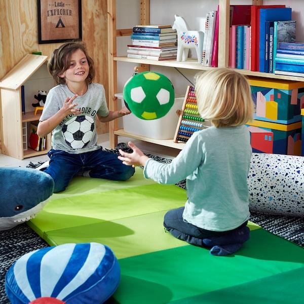 SPARKA pluchen speelgoed voetbal/groen 20 cm