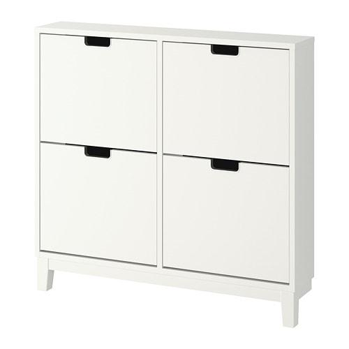 Schoenenkast En Kapstok In 1.Stall Schoenenkast 4 Vakken Ikea