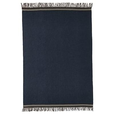 STOCKHOLM 2017 Vloerkleed, glad geweven, handgemaakt/blauw, 170x240 cm