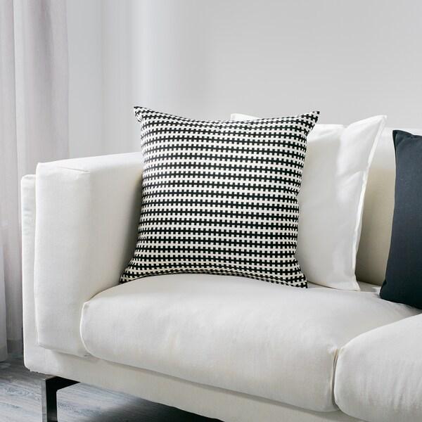 STOCKHOLM kussen zwart/wit 50 cm 50 cm 750 g 965 g