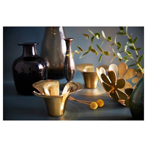 STOCKHOLM Schaal, goudkleur, 20 cm