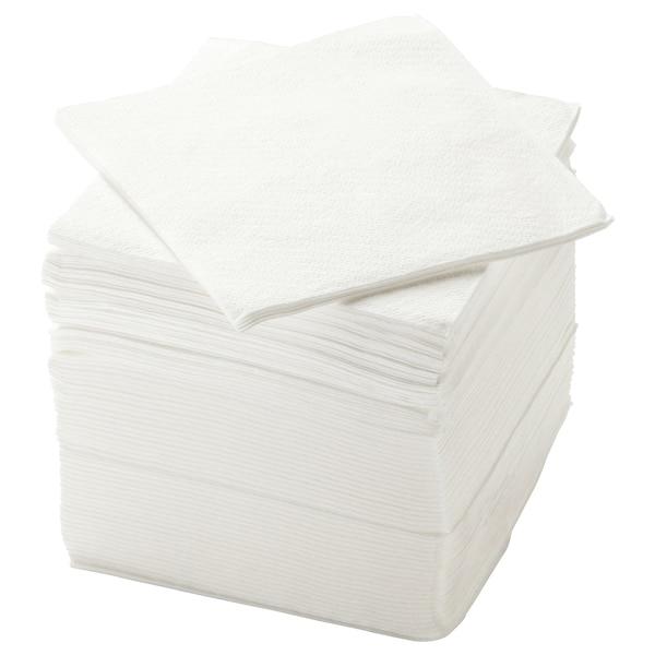 STORÄTARE papieren servet wit 30 cm 30 cm 150 st.